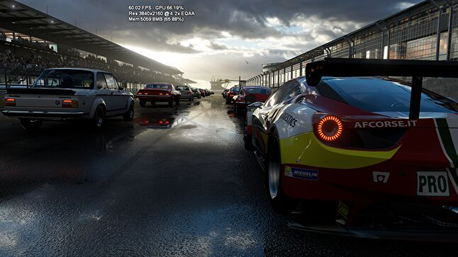Forza running in 4K at 60FPS with 'a huge amount of overhead left over'