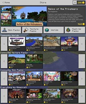 Microsoft Reveals Minecraft Store With Virtual Currency Eurogamernet - Skins para minecraft 1 8