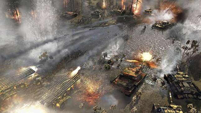 Company of Heroes 2 was finished and supported as Relic 'put some pieces of the studio back together again'