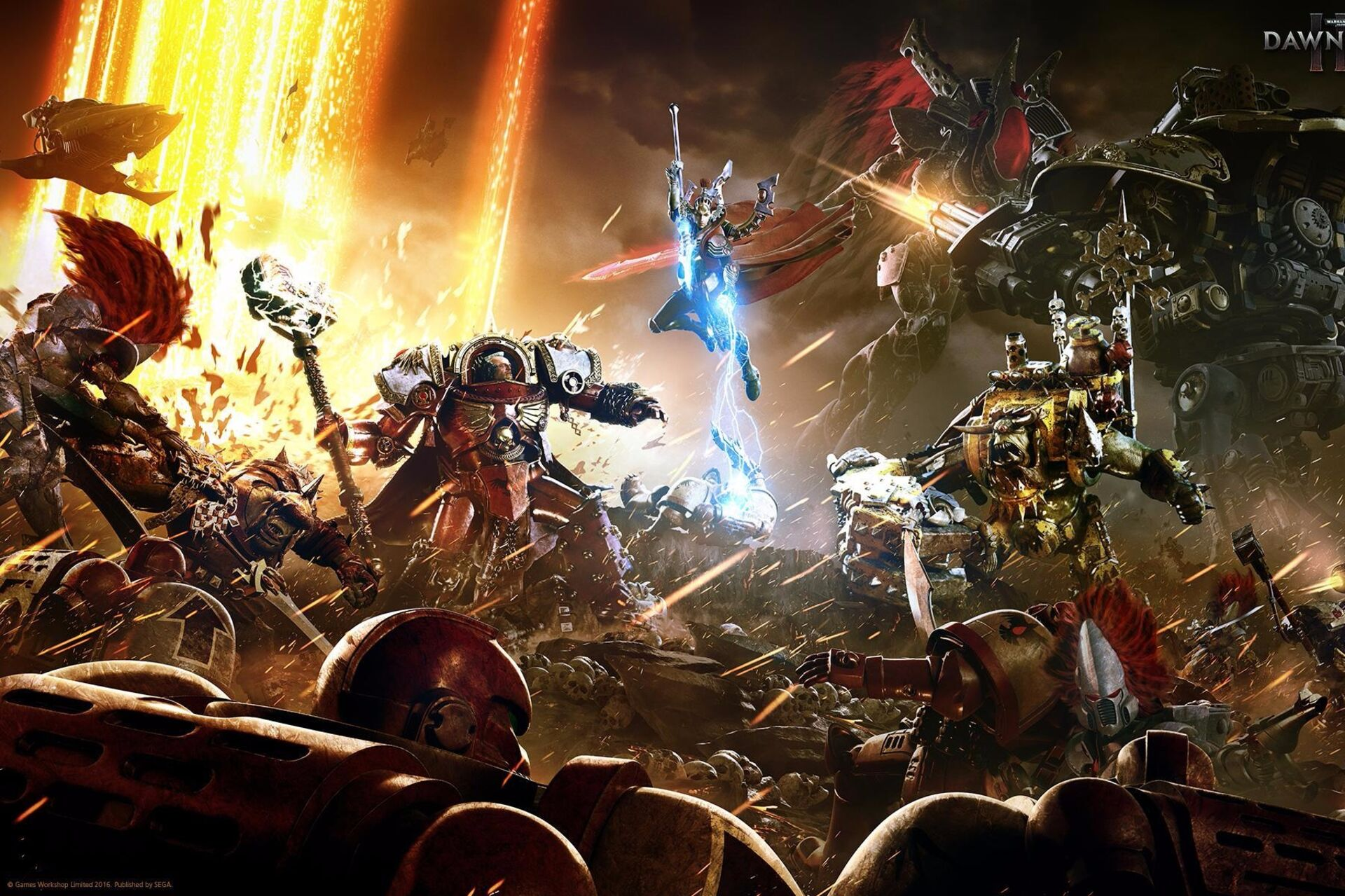Dawn of War 3 is brutal, beautiful, and inconsistently