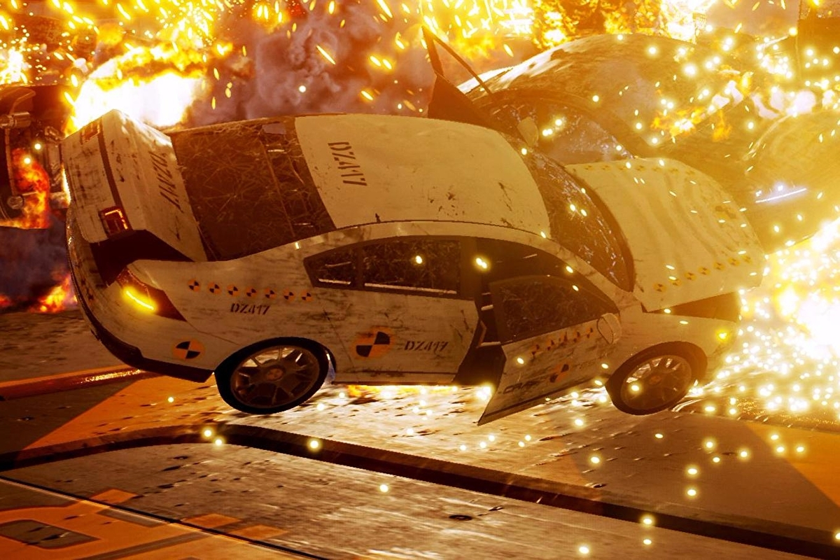 The creators of Burnout are making a Crash Mode spiritual