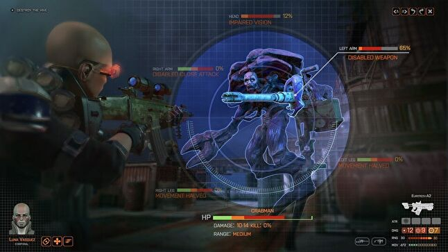 The aliens look different, but much of Phoenix Point should be familiar to XCOM fans.