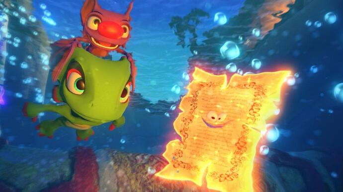 Yooka-Laylee patch will tone down gibberish voices