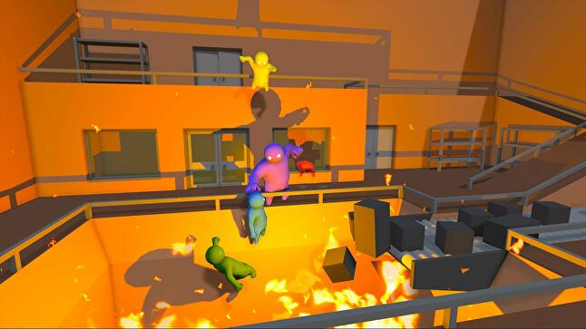 Gang Beasts is in development for PC and PS4, but the parity clause prevents Boneloaf from starting an Xbox One version - even though the team has dev kits