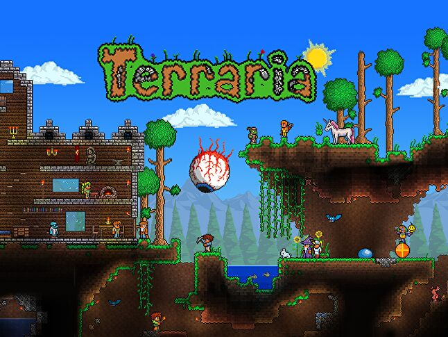 Terraria costs $9.99 and nothing more