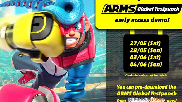 Arms is getting an open beta at the end of the month