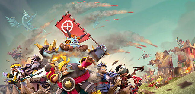Even artwork for Samurai Siege shows how much Supercell inspired Space Ape Games, with Earner describing the two studios as 'kindred companies'