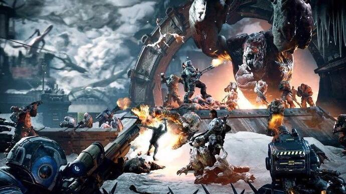 "Gears of War 4: Rise of the Horde sarà il ""più grande update di sempre"""