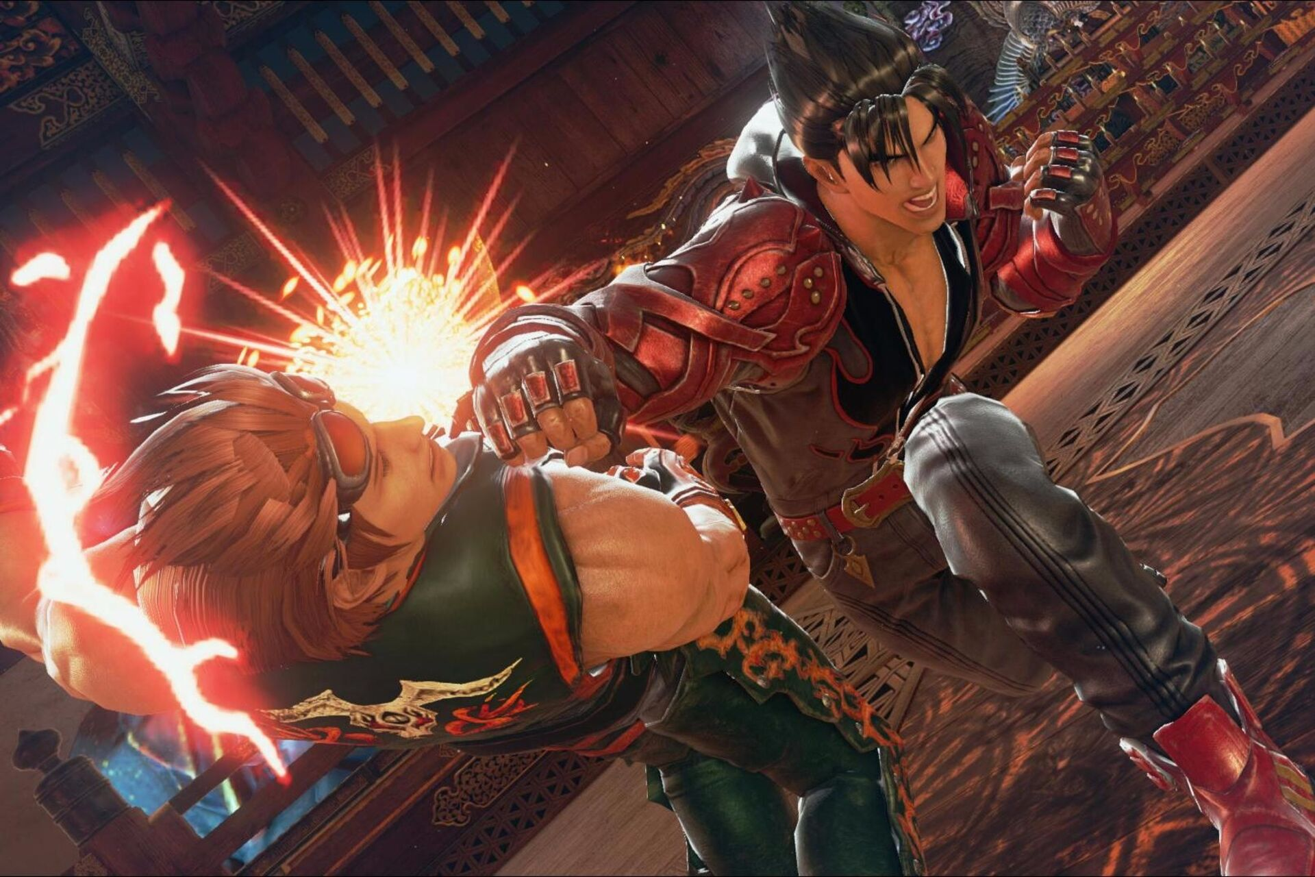 How does Tekken 7 scale across PS4, Xbox One and PC