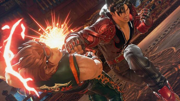 How does Tekken 7 scale across PS4, Xbox One and PC?