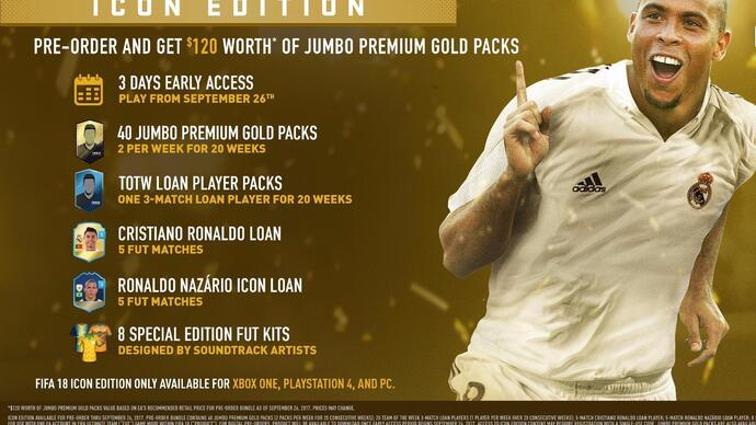 FIFA 18 ditches Xbox-exclusive Legends for multiplatformIcons