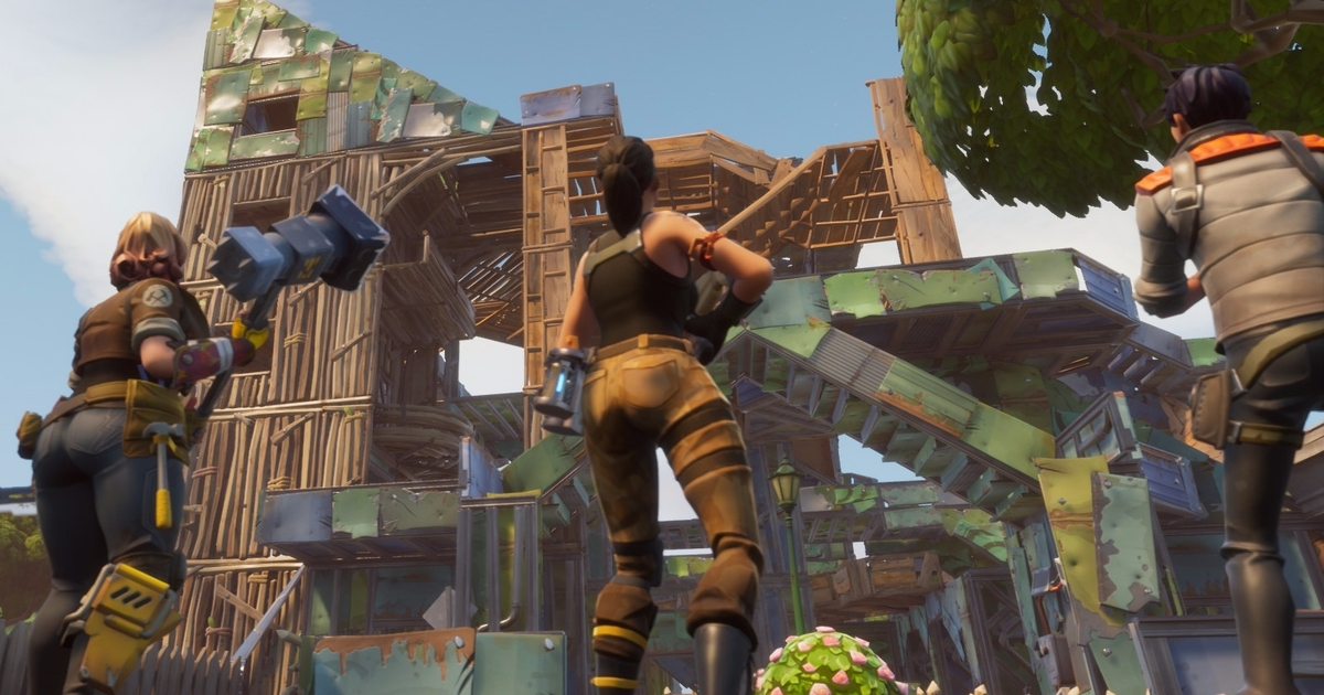 Fortnite S Fun Is Buried Under Five Years Of Gaming S