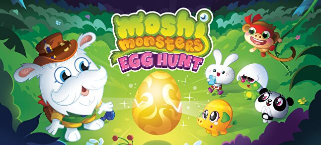 Moshi Monsters Egg Hunt is Mind Candy's effort to establish the brand once again