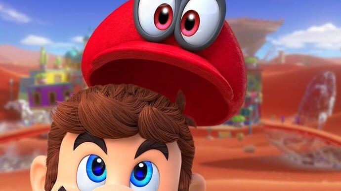 Super Mario Odyssey launches October