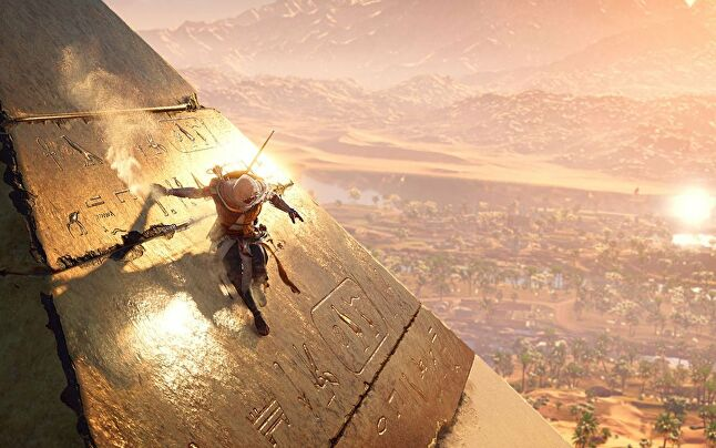Assassin's Creed Origins was one of three promising Ubisoft Montreal games at E3