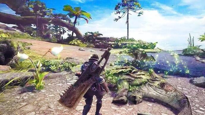 Monster Hunter World, ecco il primo video digameplay