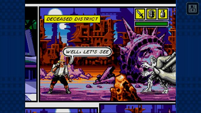 If interest is high enough in older IP like Comix Zone, it could lead to a revival and - perhaps - brand new titles