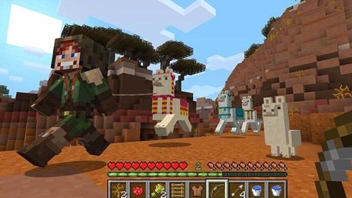 Minecraft's console editions get one more big update before cross-network play