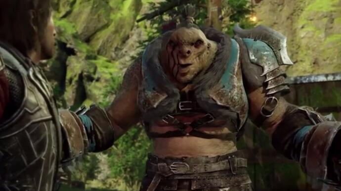 Shadow of War's bossfights end with a nice chat in new Xbox E3 trailer