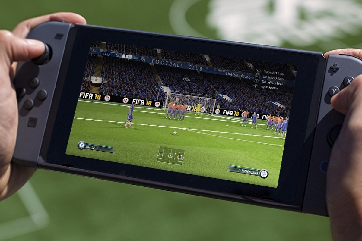 FIFA 18 on Nintendo Switch is the best portable FIFA ever