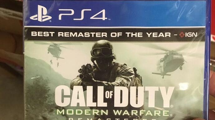 Leaked images reveal Call of Duty: Modern Warfare Remasteredstandalone