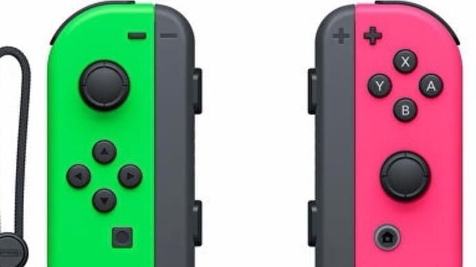Splatoon 2 neon green and pink Joy-Con release date moved forward
