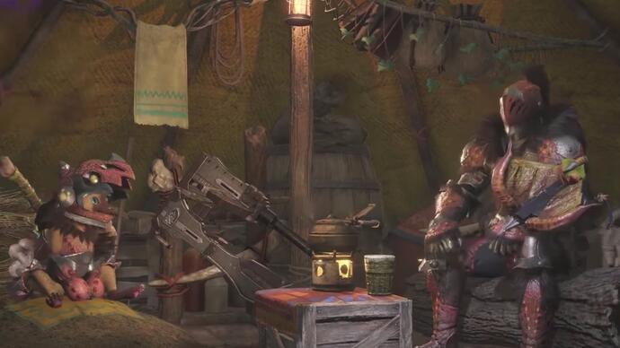 Watch 23 minutes of Monster Hunter World gameplay in HD