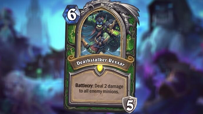 Hearthstone's next expansion turns heroes into DeathKnights