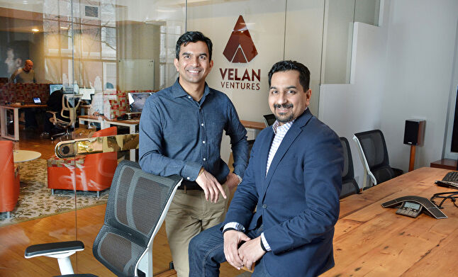 Velan founders Guha and Karthik Bala