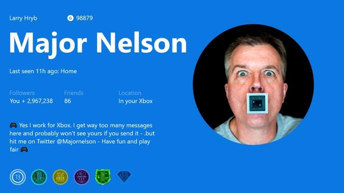 Xbox One update adds custom Gamerpics, co-streaming and more
