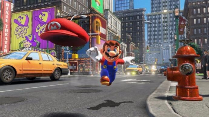 Super Mario Odyssey si fonde con Dark Souls 3 in questo brillante trailer