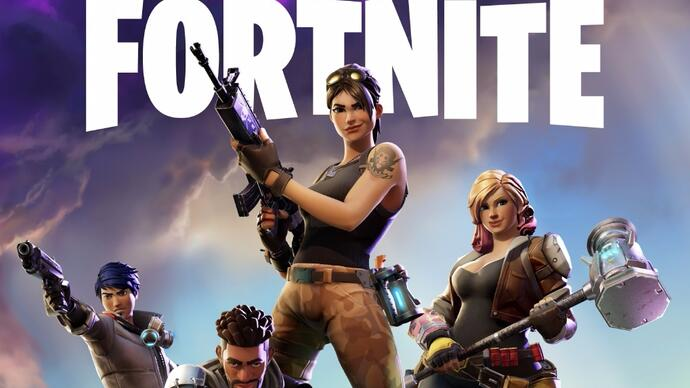 Fortnite si mostra in un lungo video digameplay
