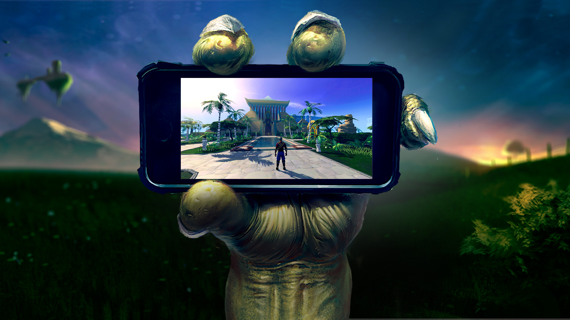 Jagex Runescape On Mobile Will Make The Mmo A Second Screen