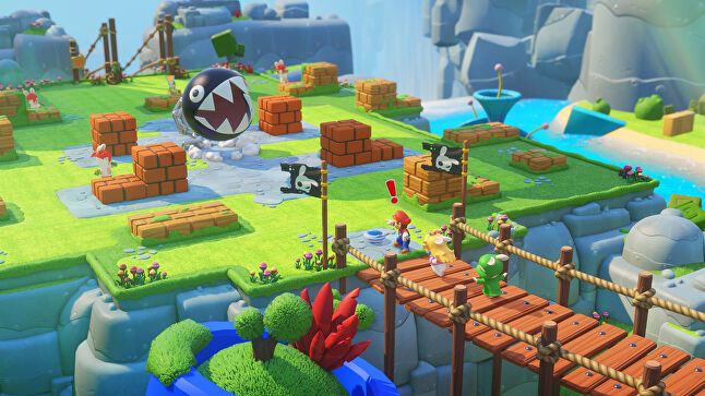 Ubisoft Milan wanted Mario + Rabbids to feel like a cartoon