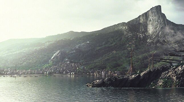 Only two cities have been explored so far in the Dishonored series, but there are enough allusions to other areas to create the sense of a much larger world