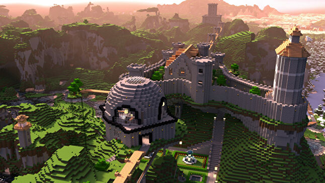 Daniel Kaplan joined Mojang almost seven years ago, at which point Minecraft looked nothing like this