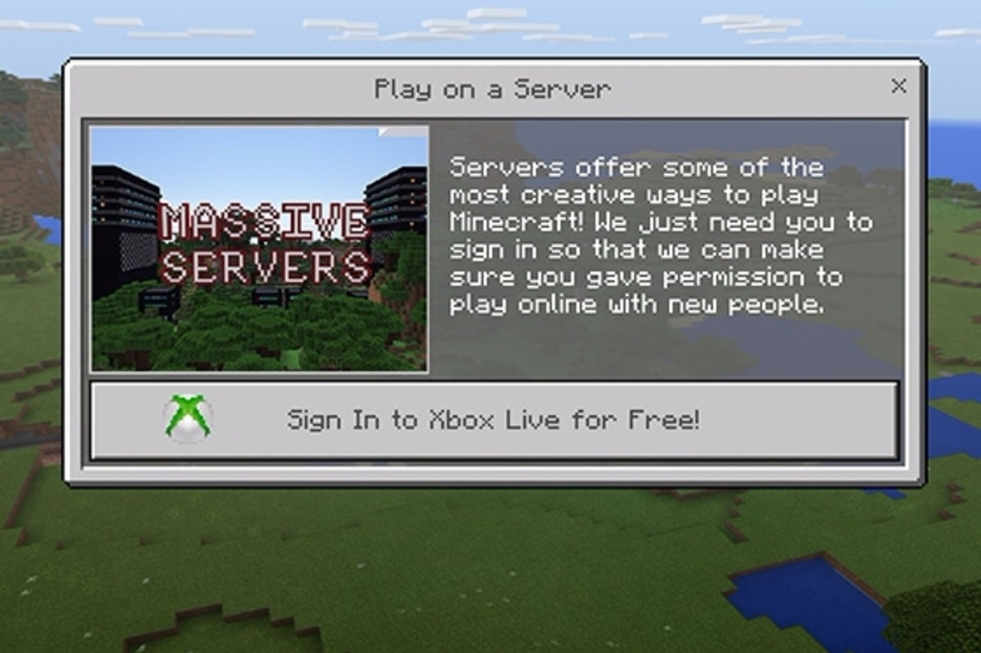 Microsoft really wants you to know playing Minecraft online is safe