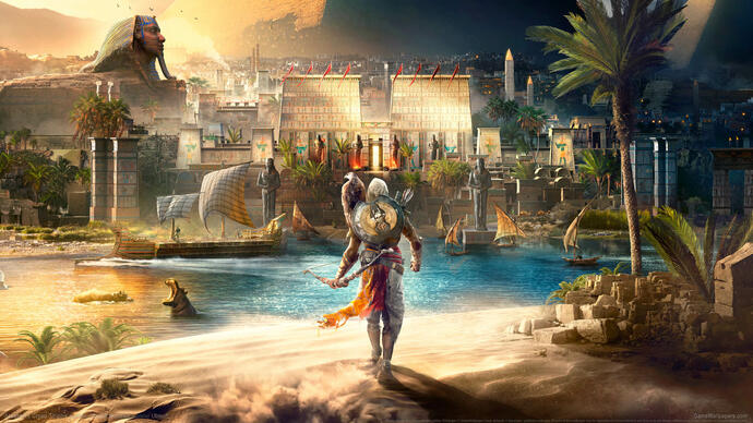 Novo gameplay de Assassin's Creed: Origins