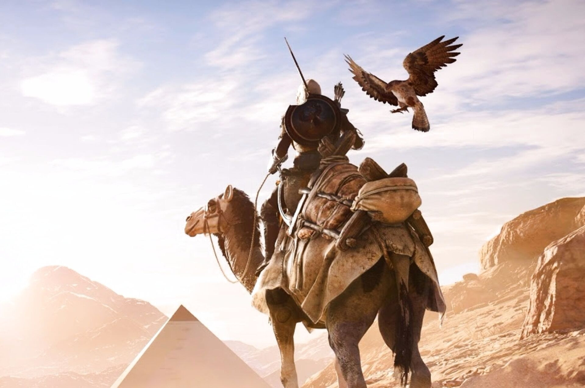 Yes You Can Still Jump Into Haycarts In Assassin S Creed Origins