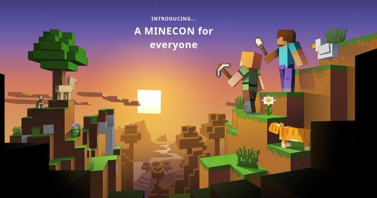 MineCon Ditches Real World Expo In Favour Of A Livestream