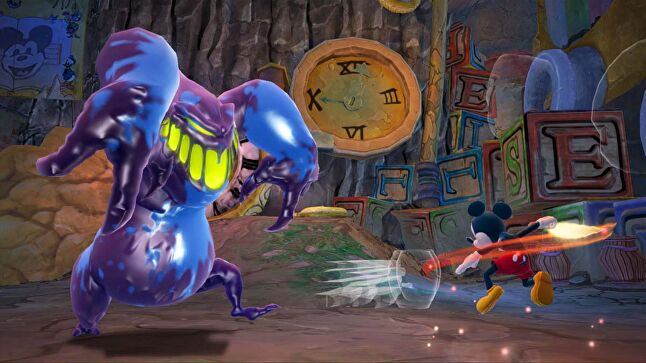 It wasn't popular with the core, but Spector, a lifelong Disney fan, was going to make Epic Mickey regardless