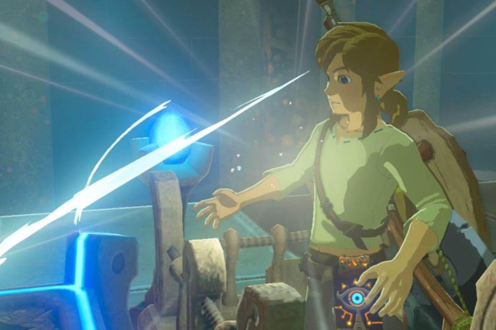 So much of the magic of Zelda's reinvention is visible in
