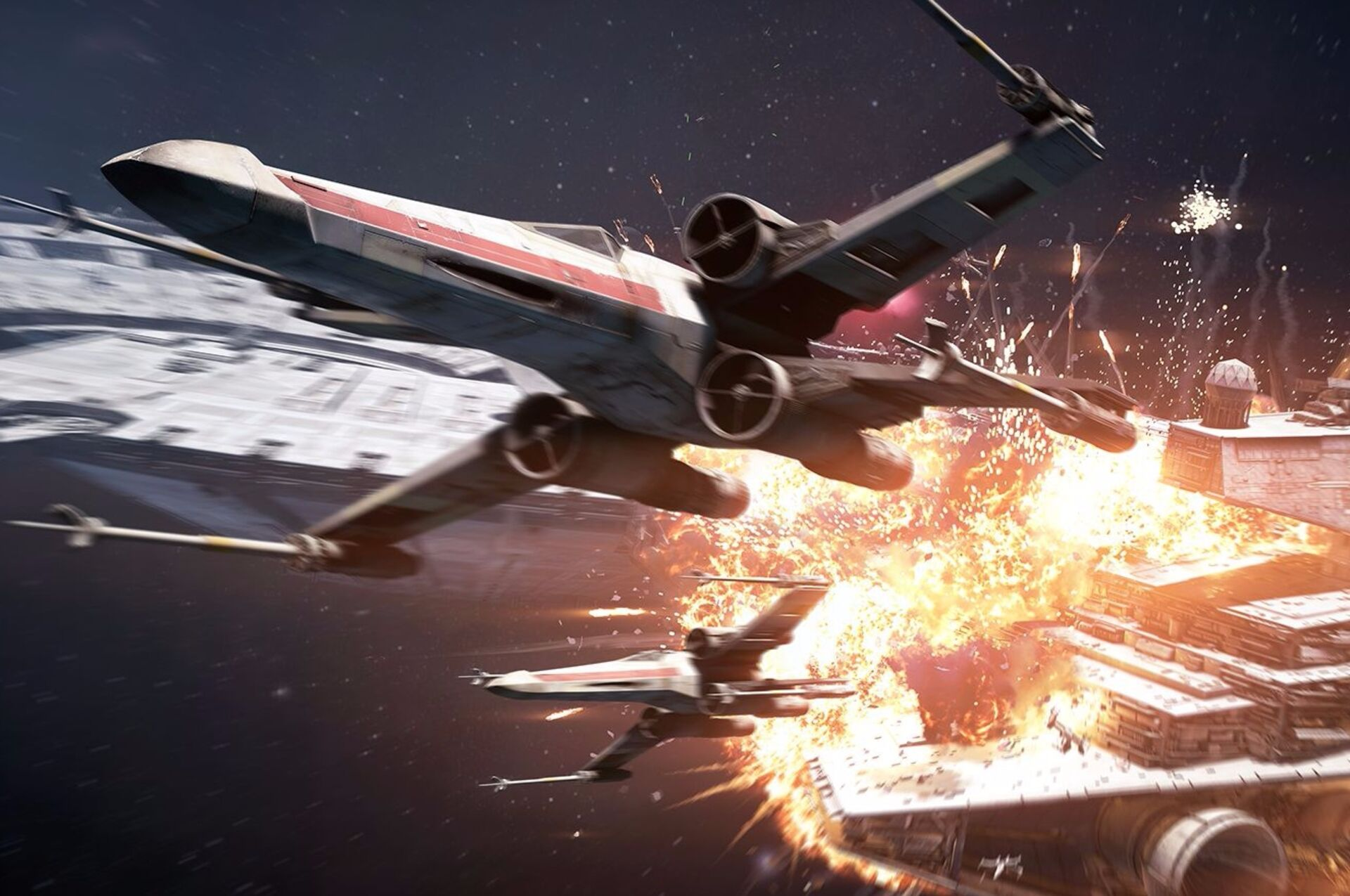 Star Wars Battlefront 2 S Space Battles Could Do With A Little