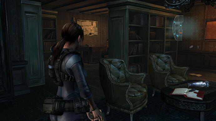 Resident Evil Revelations Go To Communication Room