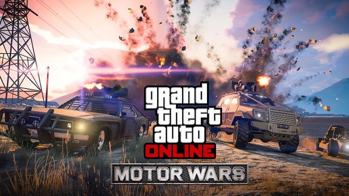 GTA Online: Smuggler's Run update introduceert Motor Wars mode