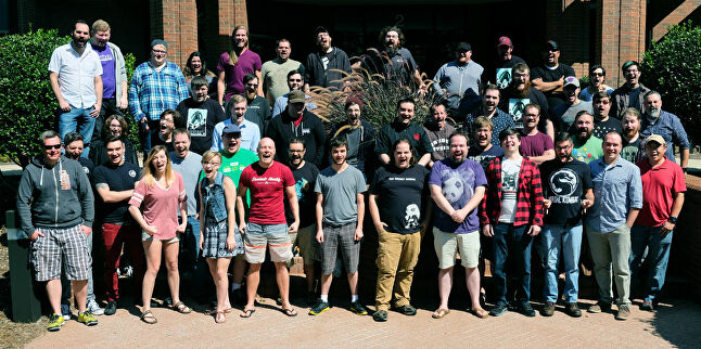 Funcom's team in Durham, North Carolina