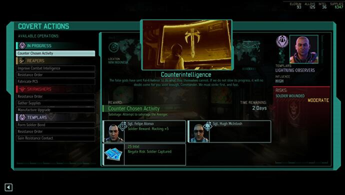 xcom 2 resistance ring and covert actions management. Black Bedroom Furniture Sets. Home Design Ideas