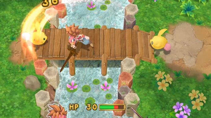 First gameplay footage of Secret of Mana remakeappears
