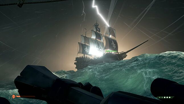 The use of Rare's Sea of Thieves water tech may be a fringe benefit of having Microsoft as a publisher