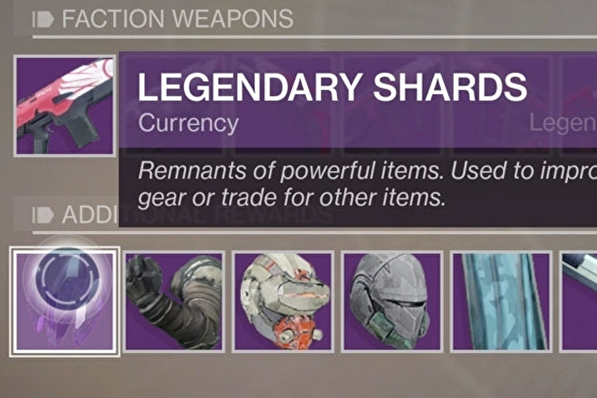 Destiny 2 Legendary Shards: How to get and spend the valuable
